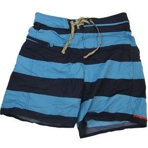 Patagonia Striped Hybrid Shorts